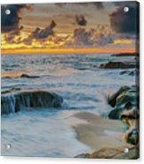 Wind And Sea Acrylic Print