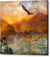 Wind Beneath My Wings Acrylic Print