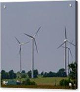 Wind Generators Acrylic Print