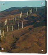 Wind Generators-signed-#0037 Acrylic Print
