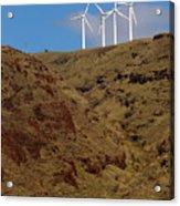 Wind Generators-signed-#0368 Acrylic Print