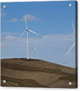 Wind Power 7 Acrylic Print by Todd Kreuter