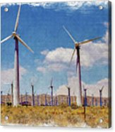 Wind Power Acrylic Print