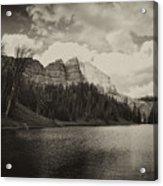 Wind River Lake Acrylic Print