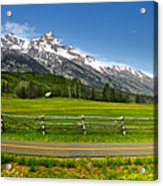 Wind River Range In West Central Wyoming - 04 Acrylic Print