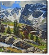 Wind River Range-wyoming Acrylic Print