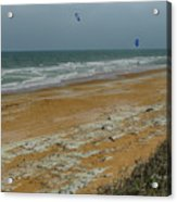 Wind Surfing In Flagler Acrylic Print