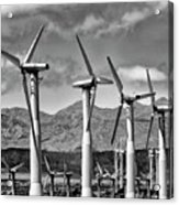Wind Turbines Palm Springs Acrylic Print