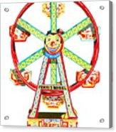 Wind-up Ferris Wheel Acrylic Print