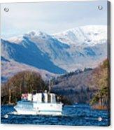 Windermere Cruise Acrylic Print