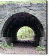 Windham Rail Trail Bridge Acrylic Print