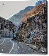 Winding Canyon Road Acrylic Print