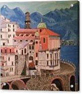 Winding Roads Of Italy Acrylic Print