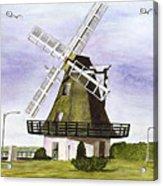 Windmill At City Beach Acrylic Print