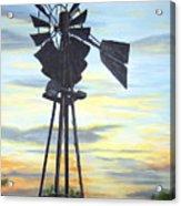 Windmill Capture The Wind Acrylic Print