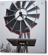 Windmill Frost Acrylic Print