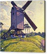 Windmill In Flanders Acrylic Print