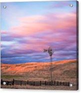 Windmill Le Acrylic Print