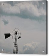 Windmill Less Blades Acrylic Print