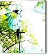Windmill Of Kansas Acrylic Print