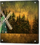 Windmill On My Mind Acrylic Print