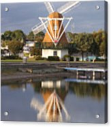Windmill Reflections Wm2014 Acrylic Print