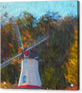 Windmill Series 1102 Acrylic Print