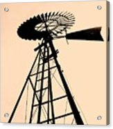 Windmill Standing Tall Acrylic Print