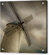 Windmills At Campo De Criptana Acrylic Print