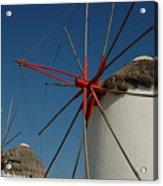 Windmills Acrylic Print