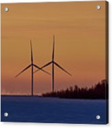 Windmills Sync Acrylic Print