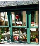 Window At Corcreggan's Mill Acrylic Print