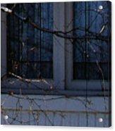 Window Blue - 2 Acrylic Print