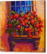 Window Box  Acrylic Print