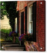 Window Boxes Acrylic Print