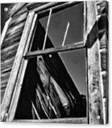 Window But No Roof Acrylic Print