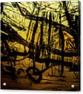 Window Drawing 06 Acrylic Print