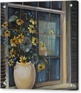 Window Dressing - Lmj Acrylic Print