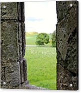 Window From The Past And Into The Future Acrylic Print