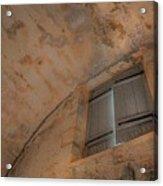 Window In Castillo De San Marcos Acrylic Print