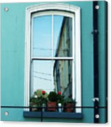 Window In Ennistymon Ireland Acrylic Print
