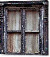 Window In Old Building Acrylic Print
