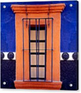 Window In San Miguel De Allende Acrylic Print