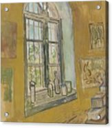 Window In The Studio Saint-remy-de-provence, September - October 1889 Vincent Van Gogh 1853 - 1890 Acrylic Print