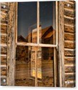 Window Into The Montana Past Acrylic Print