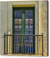 Window Of Amelia Acrylic Print