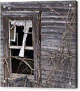 Window Of Loneliness Acrylic Print