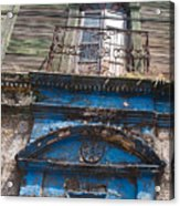 Window On Side Street Quezaltenango Guatemala Acrylic Print