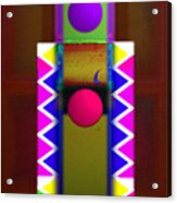 Window On The Nile 3 Acrylic Print