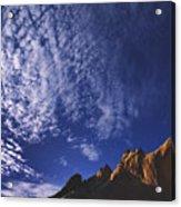 Window Rock, Arizona Acrylic Print by Dawn Kish